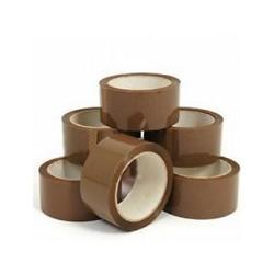Packtejp billigt pris 48mm 66m brun billig