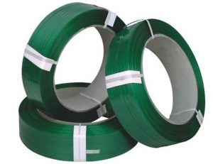 Plastic PET strap 12mm, 16mm and 19mm for packing pallets