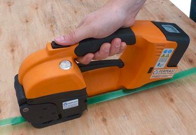 GT ONE 10-16mm bandspännare för PET och PP remmar med Batteri & Laddare 4