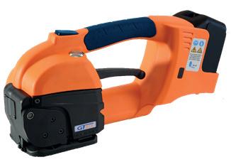 GT ONE 10-16mm bandspännare för PET och PP remmar med Batteri & Laddare 2