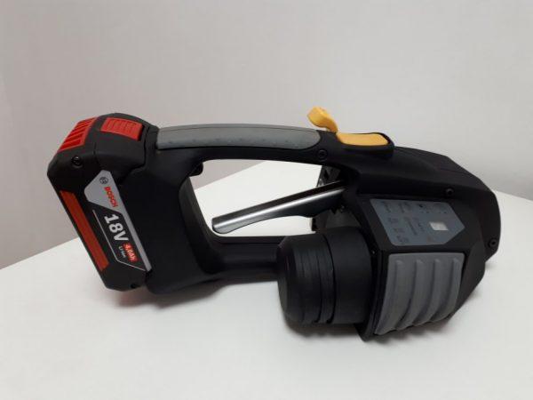 Messersi MB620 batteridrivet bandningsverktyg 12-16mm för PET och PP strap med  Batteri & Laddare 3