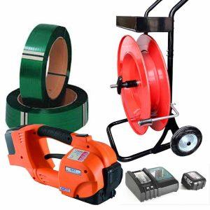 Bandningsverktyg i set GT-ONE 10-16mm för bandning med PET