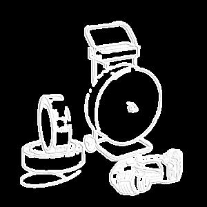 Bandningsverktyg i set